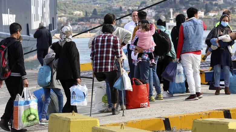Μείωση 90% στις αφίξεις μεταναστών το τελευταίο τρίμηνο