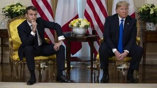 Τηλεφωνική επικοινωνία Τραμπ-Μακρόν για την αποστολή βοήθειας στον Λίβανο