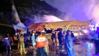 Αεροπορική τραγωδία στην Ινδία: Πέντε νεκροί, 35 τραυματίες