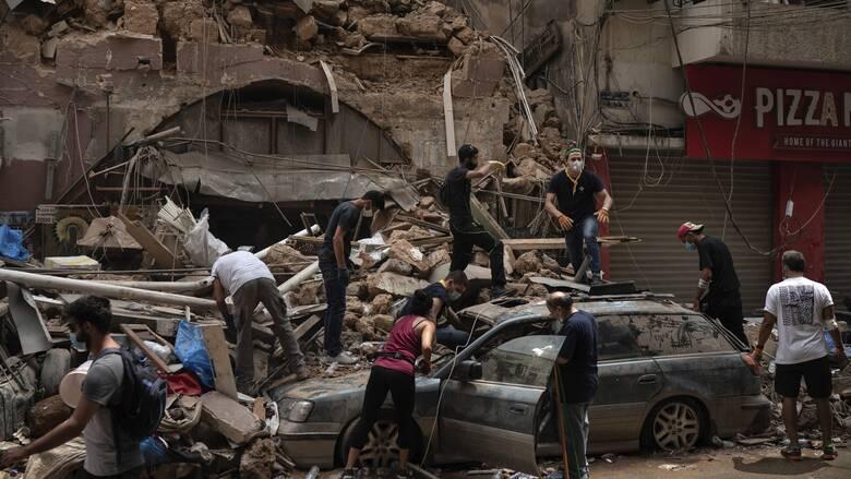 Έκρηξη στον Λίβανο: Η Ιντερπόλ στέλνει μια ομάδα ειδικών στη Βηρυτό