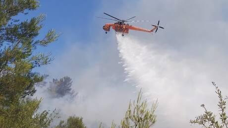 Φωτιά στην Κύπρο: Πυρκαγιά με μέτωπο 20 χιλιομέτρων