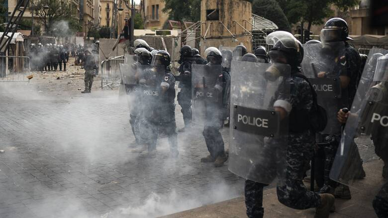 Έκρηξη στον Λίβανο: Δακρυγόνα κατά των διαδηλωτών στη Βηρυτό