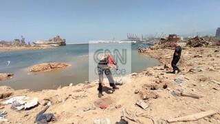 Έκρηξη στον Λίβανο: Η μάχη των Ελλήνων ανδρών της ΕΜΑΚ στη Βηρυτό