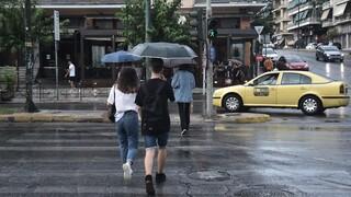 Βροχερό το σκηνικό του καιρού και σήμερα - Πού θα κυμανθεί η θερμοκρασία