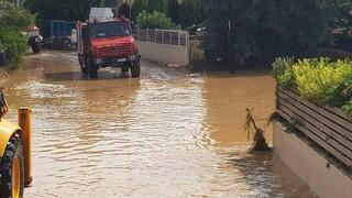 Πλημμύρες Εύβοια: Εικόνες από τις επιχειρήσεις