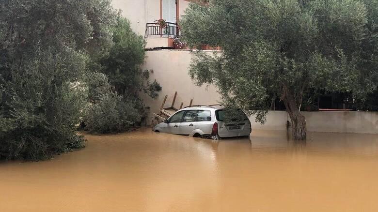 Το CNN Greece στην Εύβοια: Εικόνες απόλυτης καταστροφής μετά τις πλημμύρες