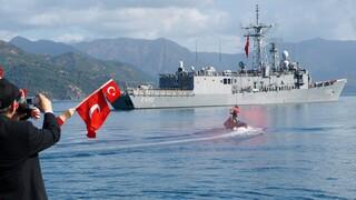 Τουρκική Navtex για άσκηση ανάμεσα σε Ρόδο και Καστελόριζο