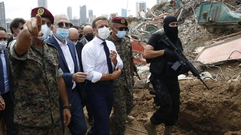 Έκρηξη στη Βηρυτό - Διάσκεψη δωρητών: «Πρέπει να δράσουμε γρήγορα» λέει ο Μακρόν