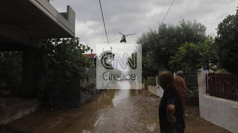 Πλημμύρες στην Εύβοια: Έξι νεκροί και δύο αγνοούμενοι