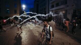 Λίβανος: Συγκρούσεις αστυνομίας και διαδηλωτών για δεύτερη ημέρα στη Βηρυτό