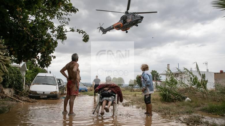 Πλημμύρες στην Εύβοια: Κλιμάκιο ψυχολόγων στέλνει το υπουργείο Υγείας