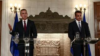 Μητσοτάκης σε Στόλτενμπεργκ: Η Τουρκία υποσκάπτει τη σταθερότητα του ΝΑΤΟ