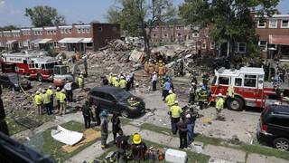 Χάος στη Βαλτιμόρη μετά από έκρηξη: Μια νεκρή, τραυματίες και παγιδευμένοι