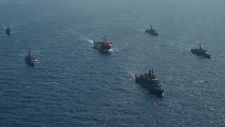 Προπαγανδίζει η Τουρκία: Το Oruc Reis στη Μεσόγειο συνοδεία πολεμικών πλοίων