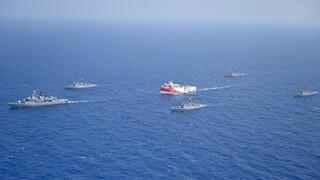 Oruc Reis: Άλλαξε πορεία το ερευνητικό σκάφος