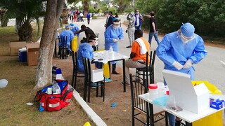 Κορωνοϊός: Κλιμάκια ΙΣΑ και Περιφέρειας Αττικής στην Αίγινα για τη διενέργεια τεστ