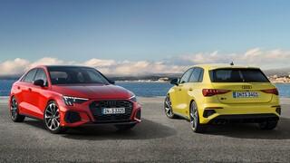 Αυτοκίνητο: To νέο Audi S3 έχει δύο αμαξώματα και δίλιτρο κινητήρα 310 ίππων