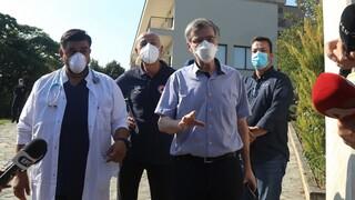Κορωνοϊός - Τσιόδρας: Από εργαζόμενο μεταδόθηκε ο ιός στον οίκο ευγηρίας