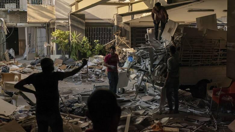 Έκρηξη στη Βηρυτό: Εκτός λειτουργίας πάνω από τα μισά νοσοκομεία