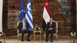 Τηλεφωνική επικοινωνία Μητσοτάκη - Αλ Σίσι: Στο επίκεντρο οι εξελίξεις στην Ανατολική Μεσόγειο
