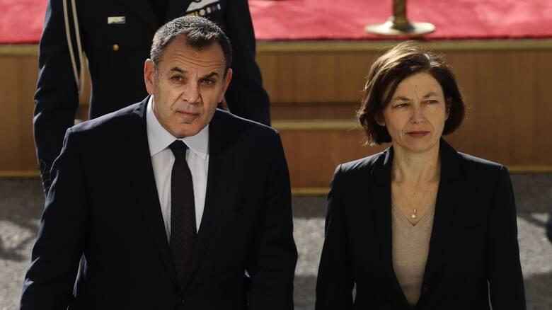 Τηλεφωνική επικοινωνία Παναγιωτόπουλου με την υπουργό Άμυνας της Γαλλίας
