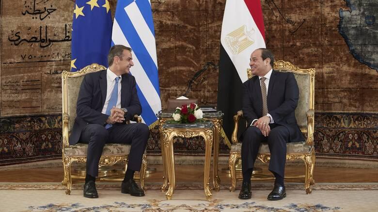 «Ιστορική εξέλιξη»: Η αιγυπτιακή προεδρία για τη συμφωνία Ελλάδας – Αιγύπτου