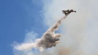 Ικαρία: Χωρίς μέτωπο η μεγάλη φωτιά που ξέσπασε στο Μονοκάμπι