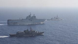 Ελληνο-γαλλική ναυτική άσκηση στην Ανατολική Μεσόγειο