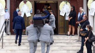 Η Θεσσαλονίκη είπε το τελευταίο «αντίο» στον μεγάλο Ντίνο Χριστιανόπουλο