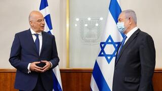 Δένδιας από Ισραήλ: Η παραβατικότητα της Τουρκίας αποτελεί κίνδυνο για την Ανατ. Μεσόγειο