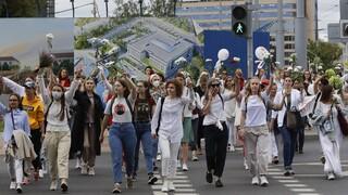 Στο χάος βυθίζεται η Λευκορωσία: Ανθρώπινες αλυσίδες κόντρα στη βίαιη καταστολή