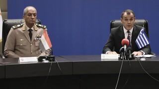 Τηλεφωνική επικοινωνία Παναγιωτόπουλου με τον υπουργό Άμυνας της Αιγύπτου