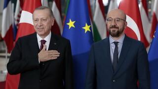Μισέλ προς Ερντογάν: Η ΕΕ στέκεται πλήρως στο πλευρό Ελλάδας και Κύπρου