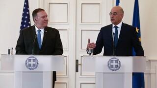 Ελληνοτουρκικά: Τι θα ζητήσει η Ελλάδα από Πομπέο και ΕΕ