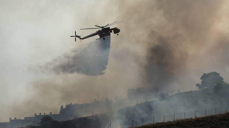 Φωτιά Χανιά: Συνεχίζεται η δύσκολη μάχη σε Κάνδανο - Σέλινο