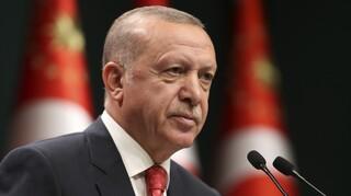 Ερντογάν: Η Τουρκία προστατεύει τα δικαιώματά της σε Ανατολική Μεσόγειο, Λιβύη και Αιγαίο