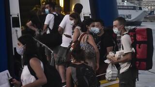 Κορωνοϊός: Δειγματοληπτικά τεστ στα λιμάνια ενόψει της επιστροφής των εκδρομέων