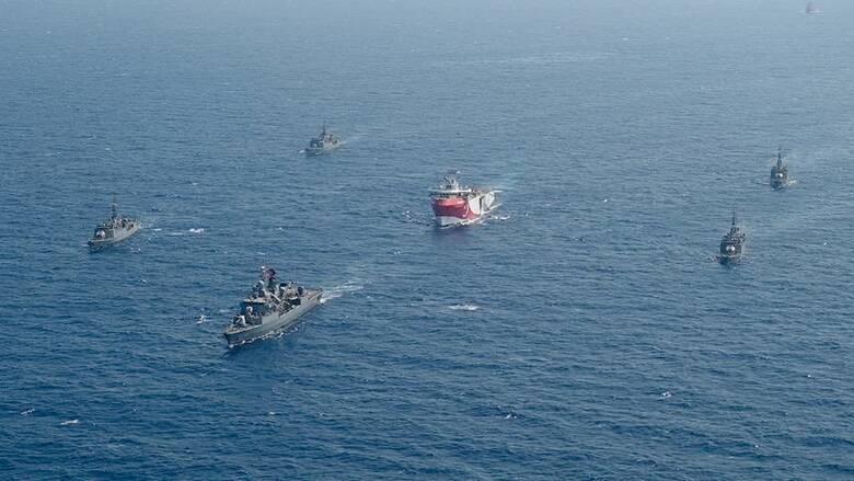 Τουρκικό υπουργείο Άμυνας: Το Kemal Reis πήγε να προστατέψει το Barbaros στην Κύπρο