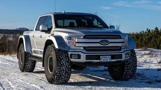 To Ford F-150 της Arctic Trucks μπορεί να κινηθεί άνετα στους αιώνιους πάγους