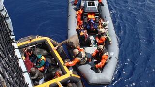 Γαλλιά: Διασώθηκαν δεκάδες μετανάστες στη Μάγχη