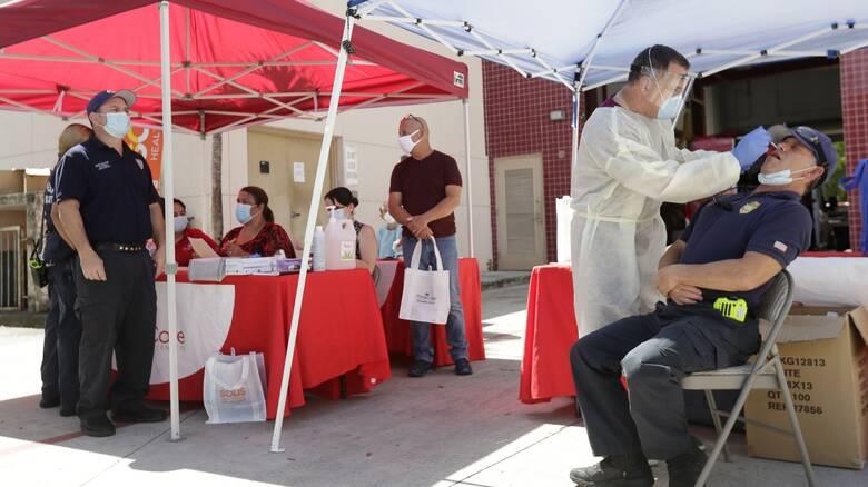 Ο κορωνοϊός συνεχίζει να «σαρώνει» τις ΗΠΑ: Στους 170.000 οι θάνατοι από την αρχή της πανδημίας