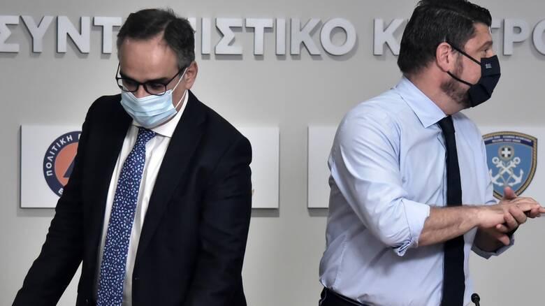Κοντοζαμάνης στο CNN Greece: Δεν κρύβουμε κρούσματα, εικασίες τα περί 8 έως 10 φορές παραπάνω