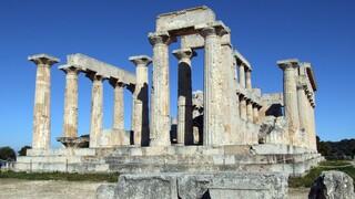 ΥΠΠΟΑ: Δρομολογείται το έργο ανάδειξης των ναών Αφαίας και Ελλανίου Διός στην Αίγινα