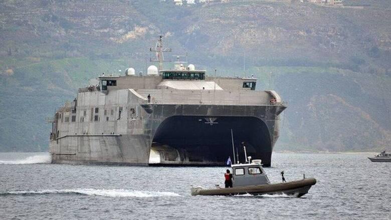 Κρήτη: Στη Σούδα high speed καταμαράν του ναυτικού των ΗΠΑ
