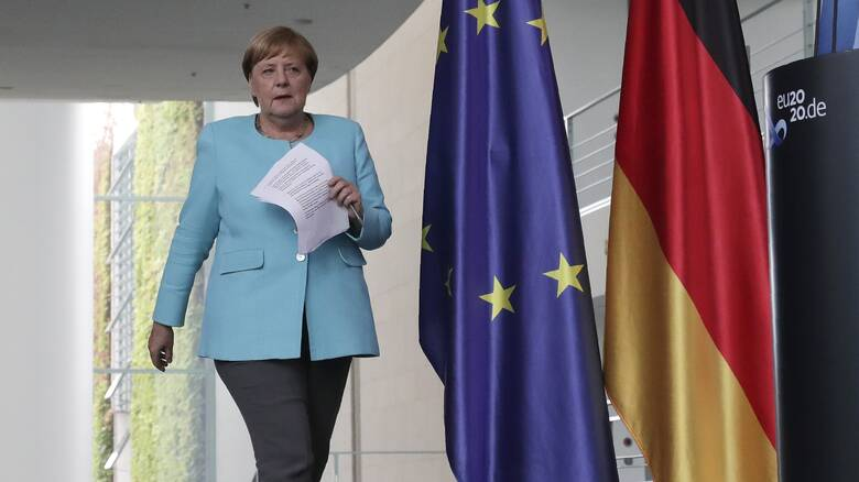 Ανησυχία Μέρκελ για την Αν. Μεσόγειο: Αναγκαίος ο διάλογος Ελλάδας-Τουρκίας για ΑΟΖ