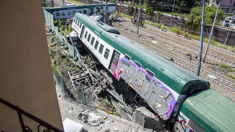 Ιταλία: Τρένο έφυγε από τον σταθμό χωρίς οδηγό και εκτροχιάστηκε - Τρεις τραυματίες