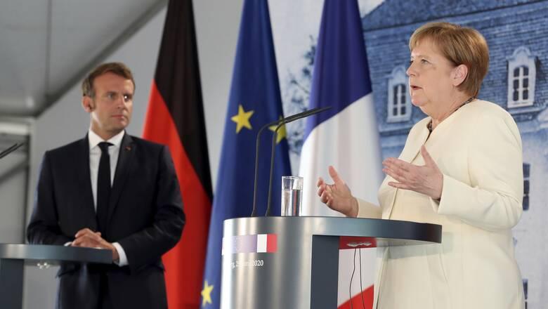 Γαλλία: Συνάντηση Μέρκελ - Μακρόν το απόγευμα με φόντο την τουρκική προκλητικότητα