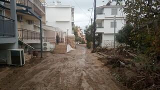 Κακοκαιρία στη Θάσο: Πλημμύρες, εγκλωβισμένοι, ζημιές και κλειστοί δρόμοι