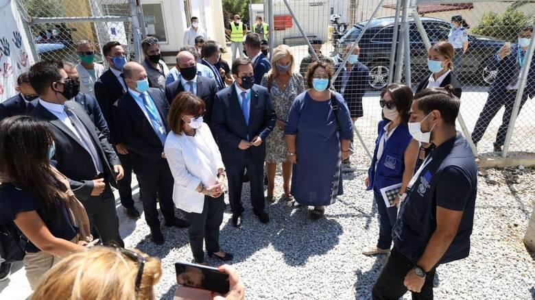 Μηταράκης στο CNN Greece: Επεισόδια στη Μόρια - Τραυματίστηκε ο αστυνομικός διευθυντής