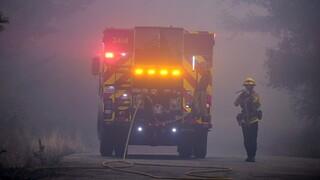 Πυρκαγιές στην Καλιφόρνια: Το μέτωπο εκτείνεται σε 530.000 στρέμματα - Δύο νεκροί